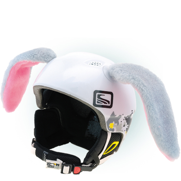 Black Cat Ear Motorcycle Helmet